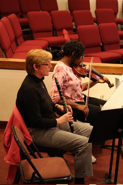 PUMC Wind Ensemble Rehearsal 2009-03-15 (20)