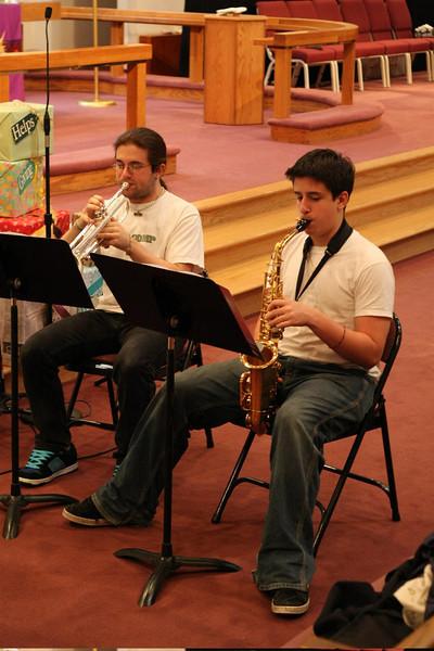 PUMC Wind Ensemble Rehearsal 2009-03-15 (17)