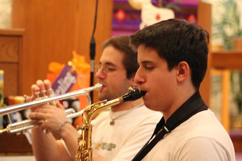 PUMC Wind Ensemble Rehearsal 2009-03-15 (32)