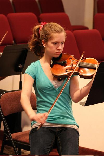 PUMC Wind Ensemble Rehearsal 2009-03-15 (45)
