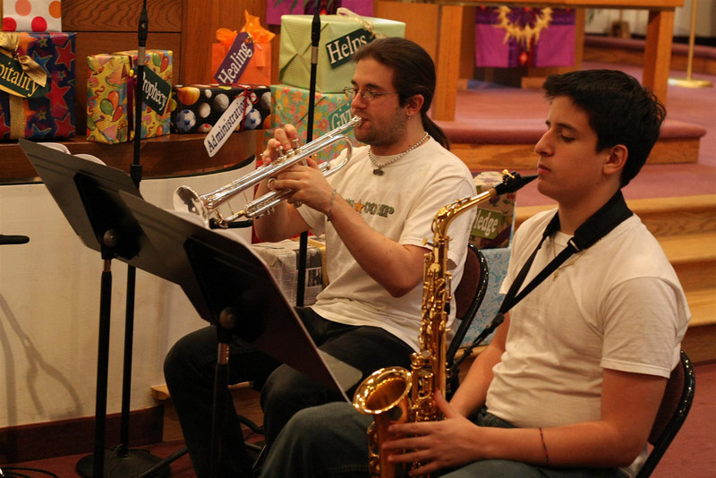 PUMC Wind Ensemble Rehearsal 2009-03-15 (16)