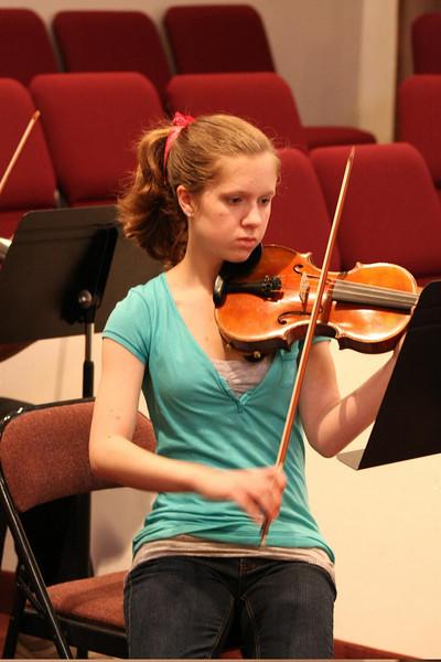 PUMC Wind Ensemble Rehearsal 2009-03-15 (44)
