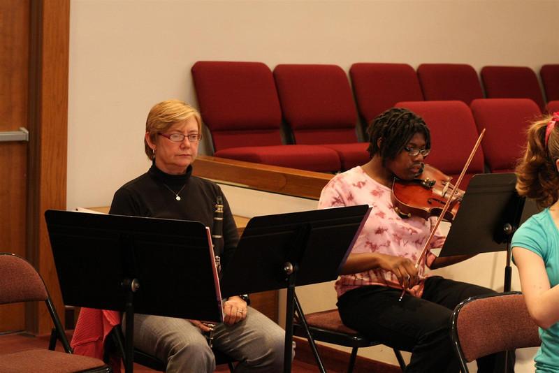 PUMC Wind Ensemble Rehearsal 2009-03-15 (9)