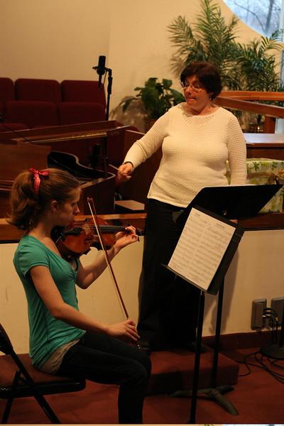 PUMC Wind Ensemble Rehearsal 2009-03-15 (21)