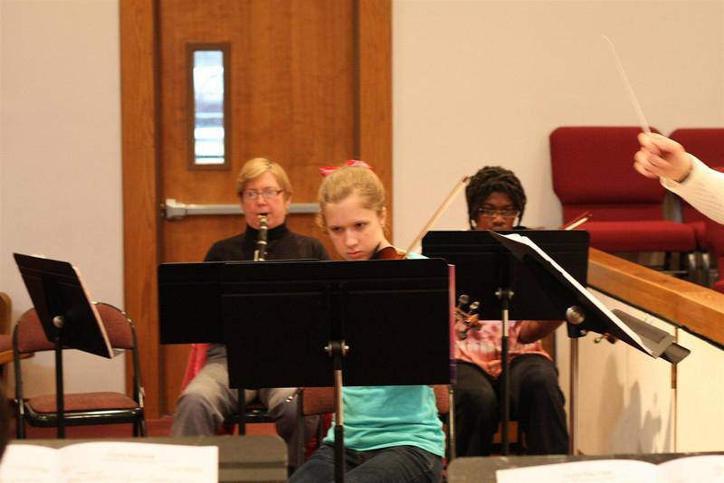 PUMC Wind Ensemble Rehearsal 2009-03-15 (7)
