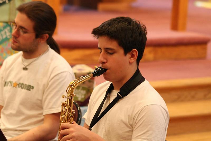 PUMC Wind Ensemble Rehearsal 2009-03-15 (40)
