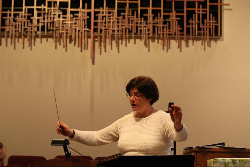 PUMC Wind Ensemble Rehearsal 2009-03-15 (25)