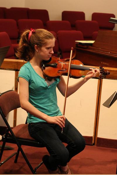 PUMC Wind Ensemble Rehearsal 2009-03-15 (11)