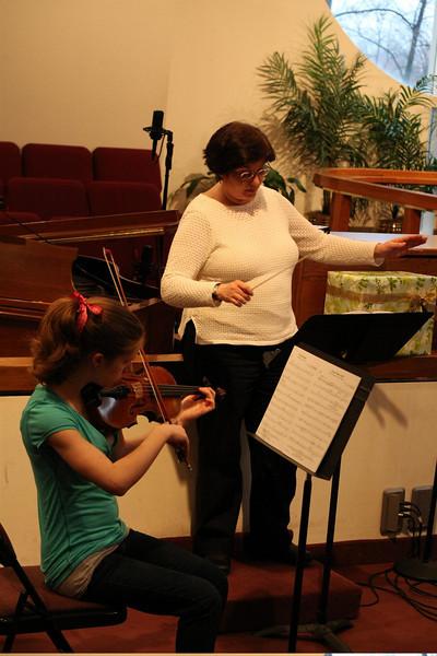 PUMC Wind Ensemble Rehearsal 2009-03-15 (22)
