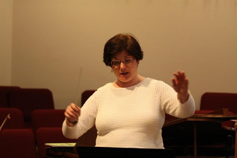 PUMC Wind Ensemble Rehearsal 2009-03-15 (35)