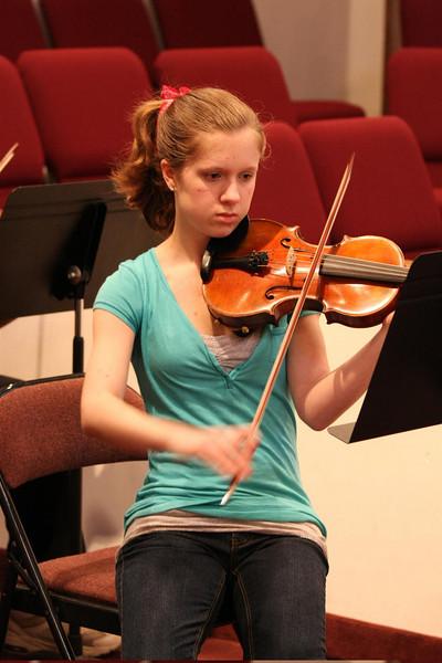 PUMC Wind Ensemble Rehearsal 2009-03-15 (46)
