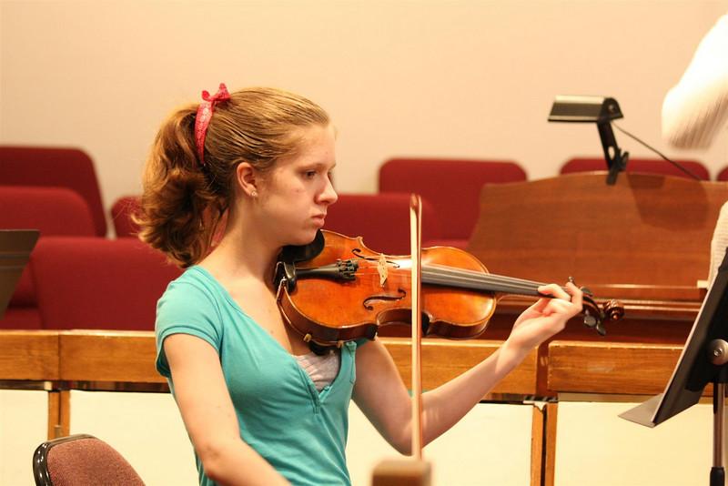 PUMC Wind Ensemble Rehearsal 2009-03-15 (30)