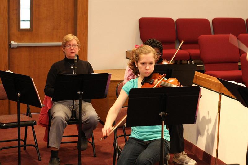 PUMC Wind Ensemble Rehearsal 2009-03-15 (6)