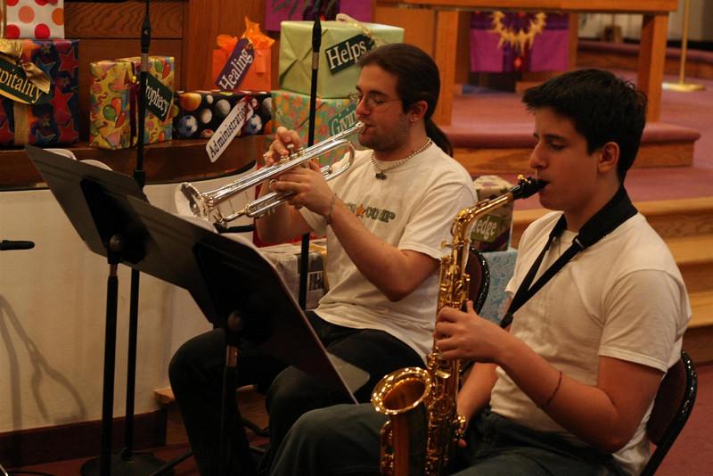 PUMC Wind Ensemble Rehearsal 2009-03-15 (14)
