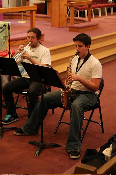 PUMC Wind Ensemble Rehearsal 2009-03-15 (18)