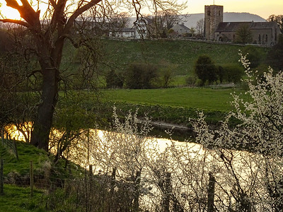 Early spring at Mitton in the Ribble Valley