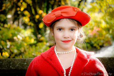 Penelope in Red