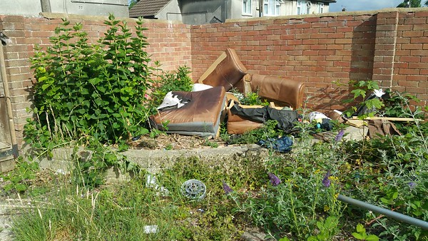 The locals seem to have used it as a dumping ground