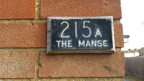 "Why"" The Manse""?"