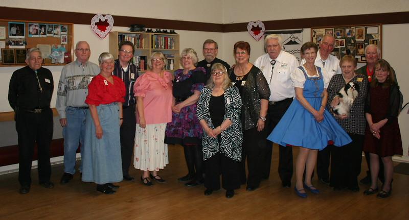 Poulsbo Promenaders club members