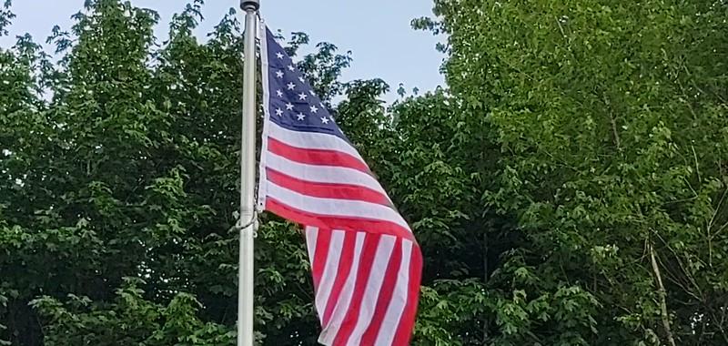 KSDA's new flag. Memorial Day 2021