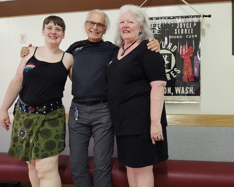 Jenny Ogg, Gary & Jan Faulds