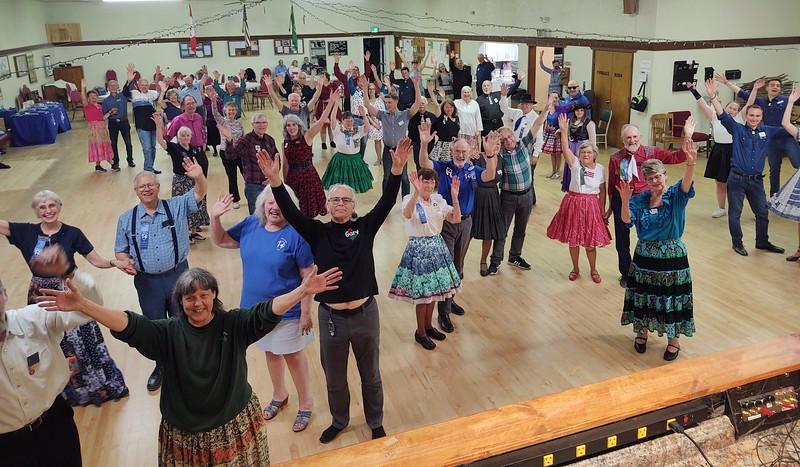 Hallelujah...it's good to be dancing again!