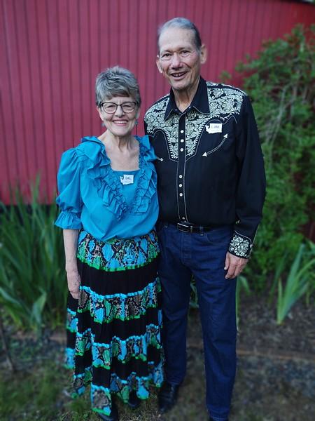 Lane and Gail Johnston