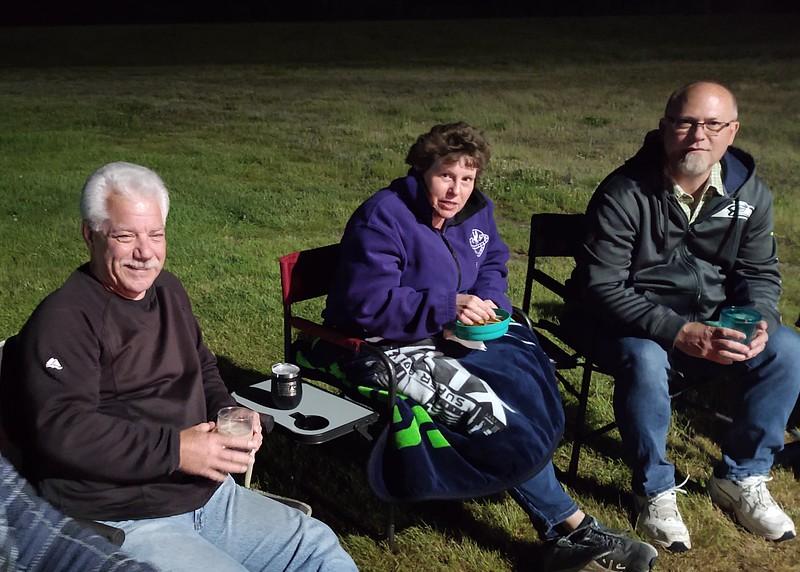Bob Blackburn, Sue & Greg Weber