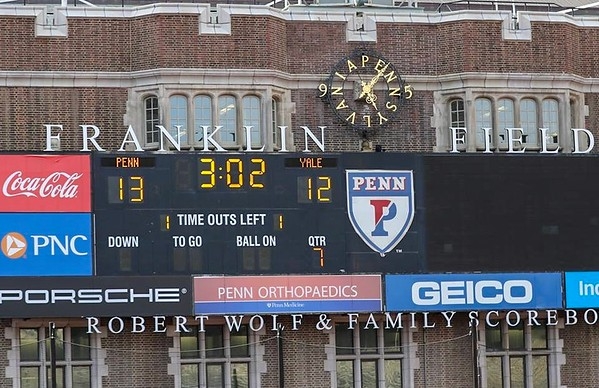 Penn vs Yale