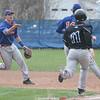 Action during the Penn Yan vs. Midlakes baseball game April 27, 2015.