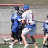 Action during the Penn Yan vs. Worthington Kilbourne boys lacrosse game, March 29.