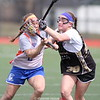 Action during the Penn Yan vs. Corning East girls lacrosse scrimmage, April 3, 2015.
