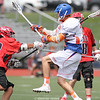 Action during the Penn Yan vs. Penfield lacrosse game, May 9, 2015.