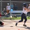 Action during the Penn Yan vs. Geneva softball game, May 14, 2015.