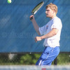 Action during the Penn Yan Tennis sectional match, May 19, 2015.