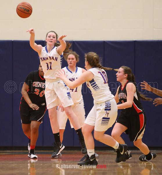 Penn Yan Girls Basketball 2-3-16.