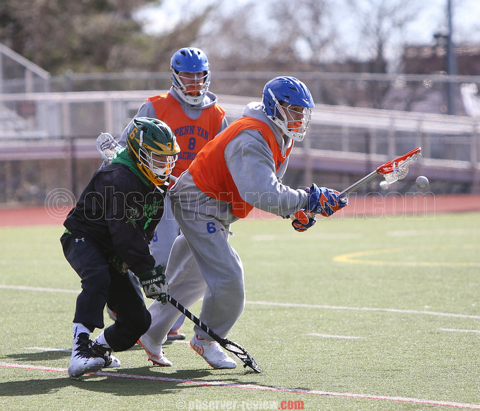 Penn Yan Lacrosse Scrimmage 3-19-16.