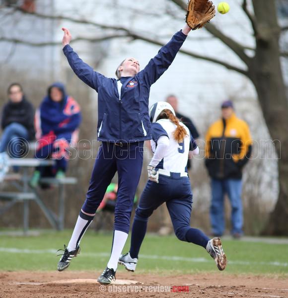 Penn Yan Softball 4-12-16.