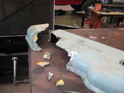 Repair valve cover