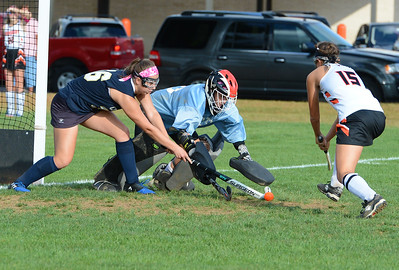 Aspen Handel (00) makes great save for CR South.