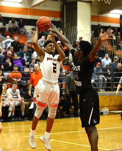 Raylil Winton-Law (2) shoots over Terrell Jones (34).