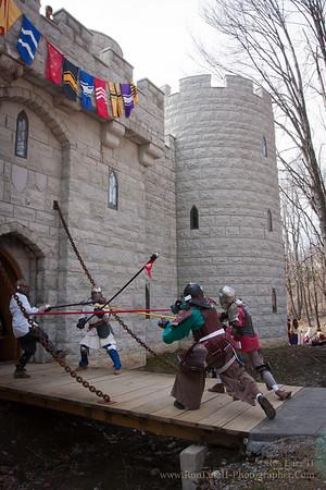 Siege of Harlech Castle I