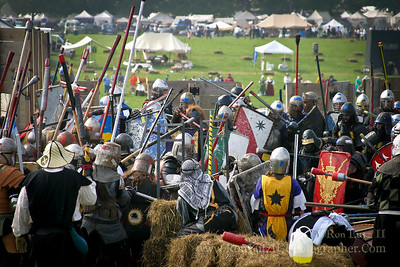 Castle Battle - Pennsic War 32 08-12-2003