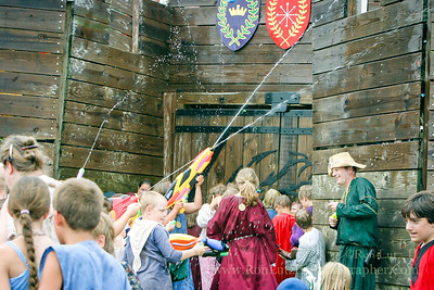 Castle Water Battle 08-14-2005
