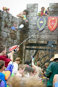 Castle Water Battle 08-14-2005