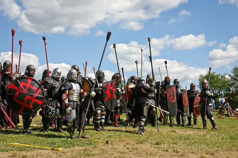 Castle Battle - Pennsic War 35<br /> 08-16-2006