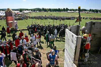 Castle Battle - Pennsic War 35 08-16-2006