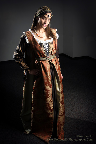Italian Renaissance Gown, Late 15th Century
