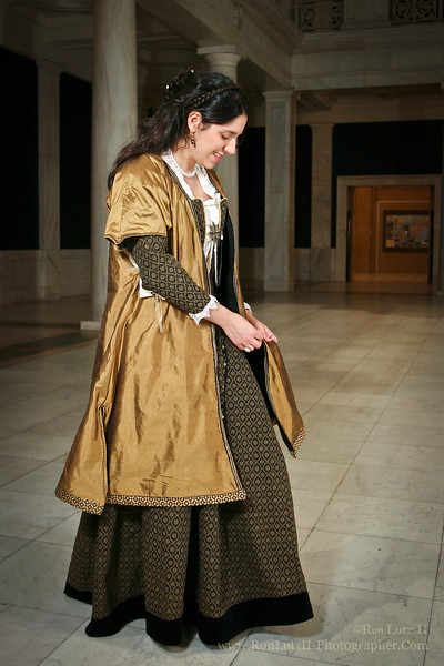 Venetian Gown, Italian, 1550-1570